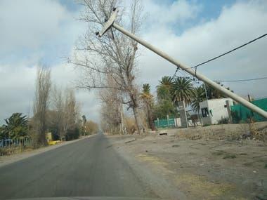 Durante toda la jornada del domingo se vivieron horas de gran tensión y preocupación por el fuerte impacto que tuvo el viento.