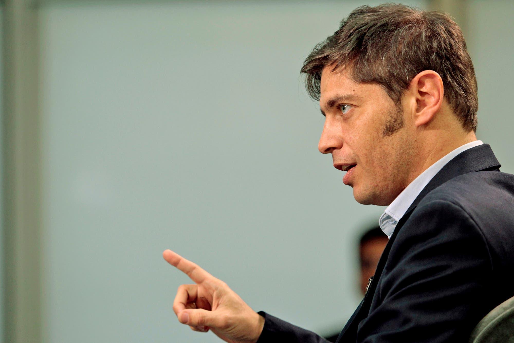Axel Kicillof se despegó del ataque verbal de Aníbal Fernández a Vidal