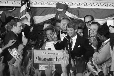 Robert Kennedy fue asesinado en el Hotel Ambassador de Los Ángeles
