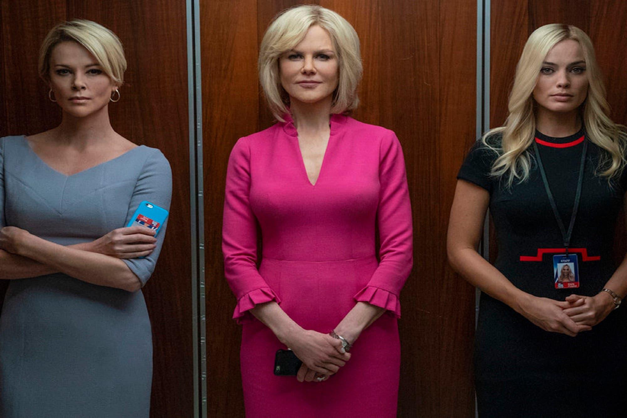 Bombshell: Nicole Kidman, Charlize Theron y Margot Robbie, reunidas en un retrato del gran escándalo de Fox News