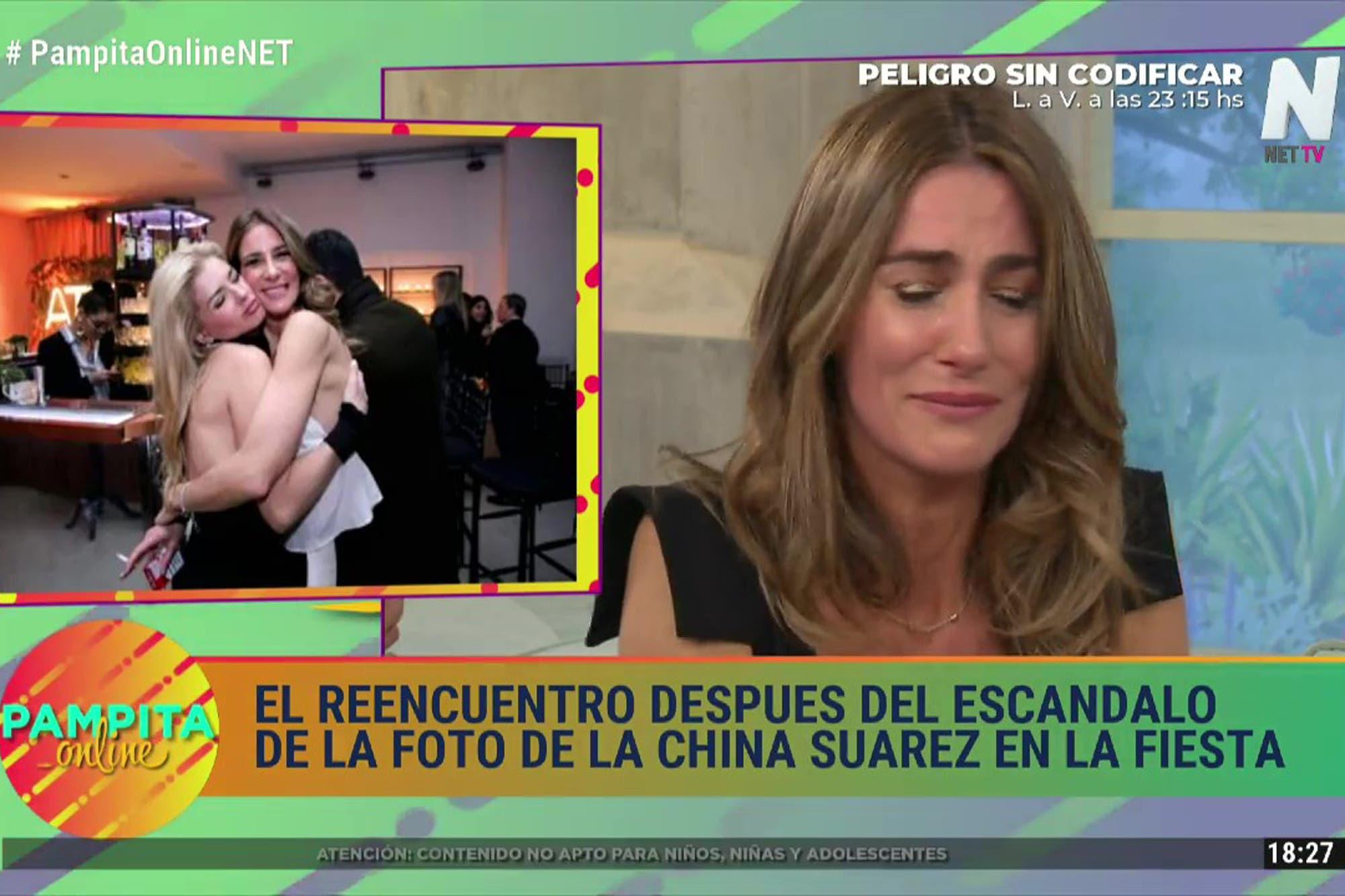 Entre lágrimas, abrazos y un mea culpa, Pampita Ardohain y Puli Demaría se reencontraron frente a cámara