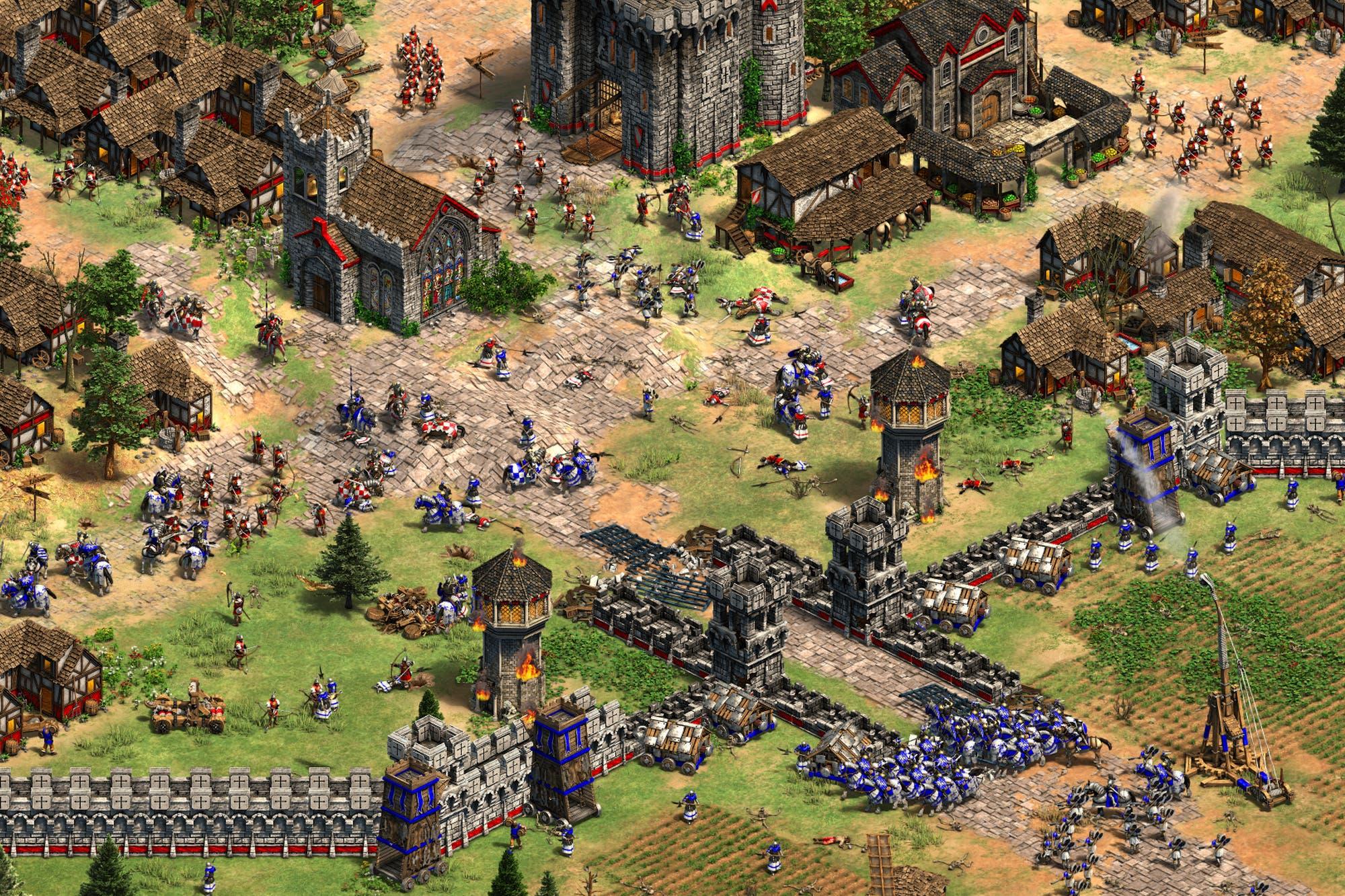 Microsoft va a la guerra: ya podés bajar el Age of Empires II y ver cómo será el IV