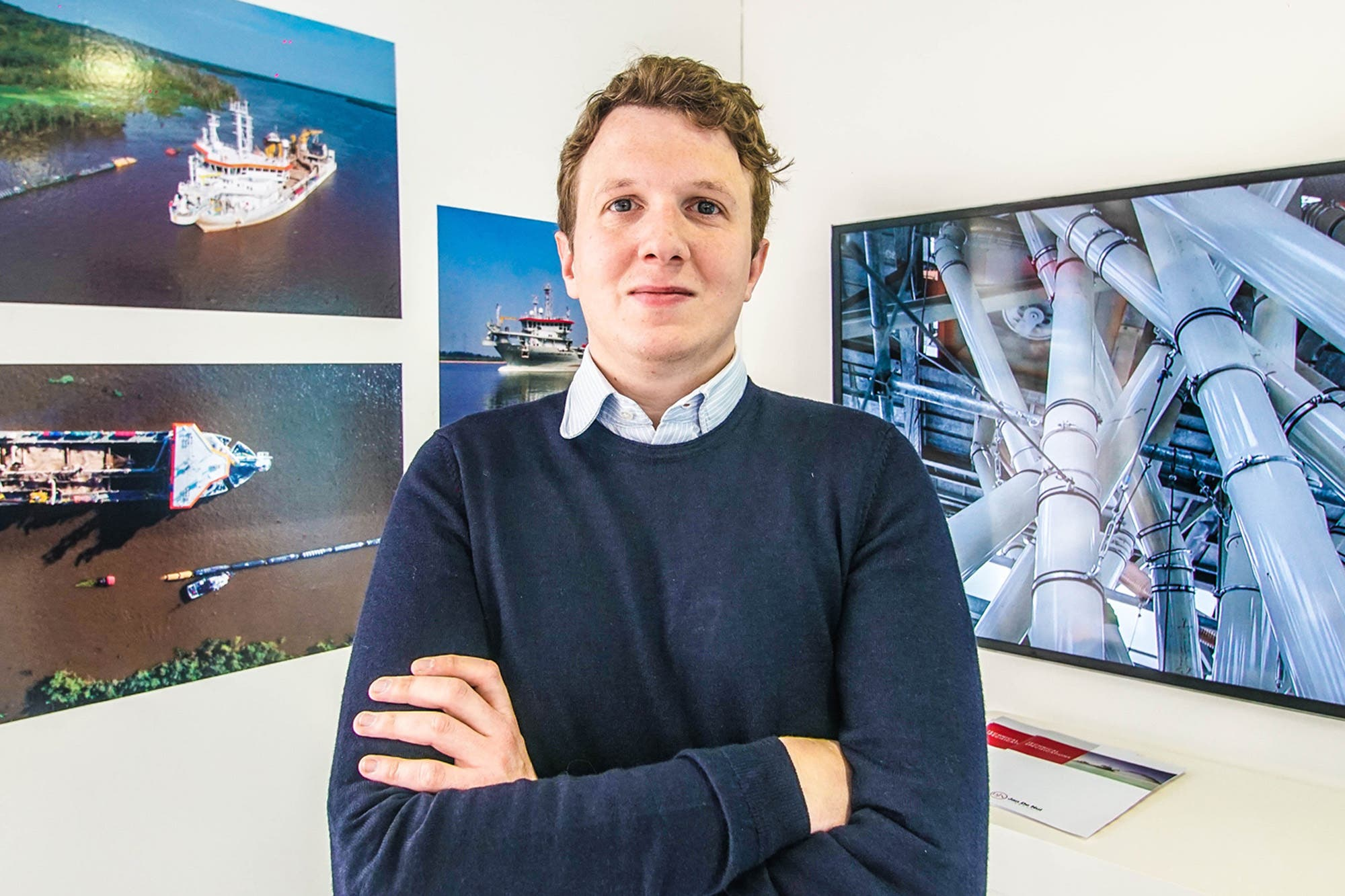 Pieter Jan de Nul. No profundizar la Hidrovía en los últimos cuatro años fue una oportunidad perdida