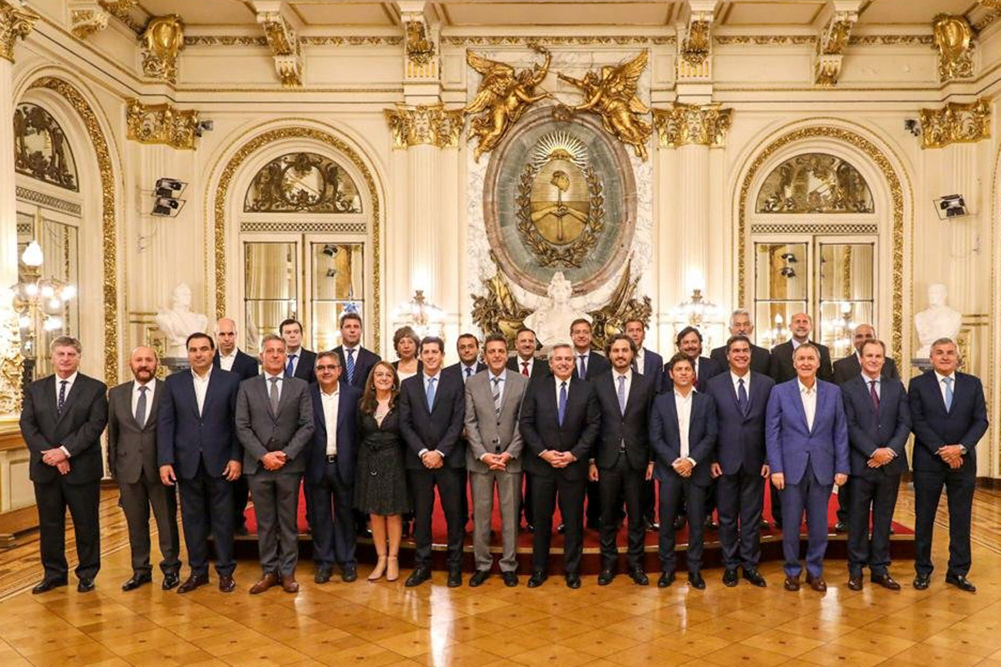Peregrinación de los gobernadores a la Casa Rosada por recursos