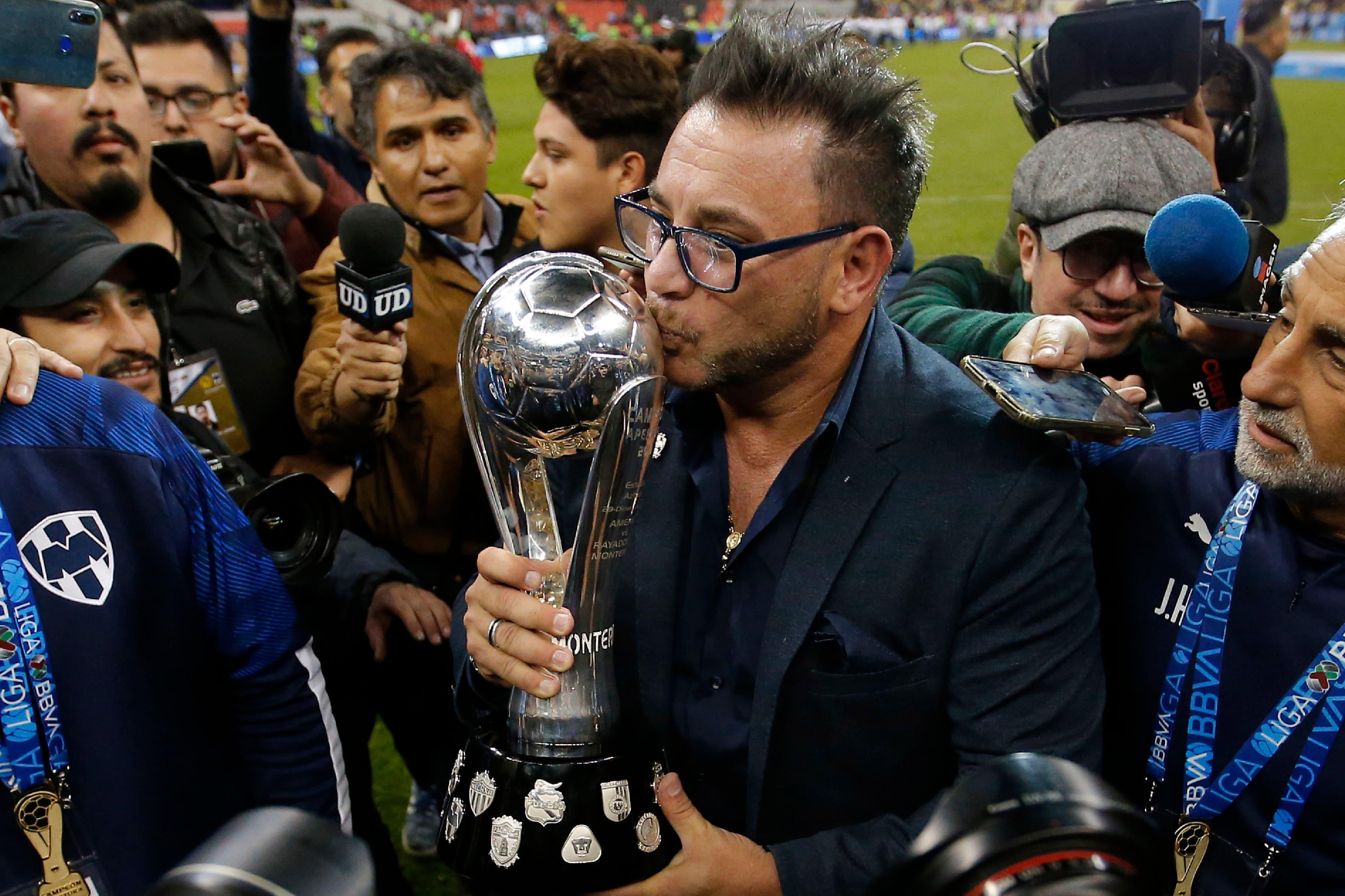 La emoción de Antonio Mohamed en la jornada de su redención: Monterrey campeón