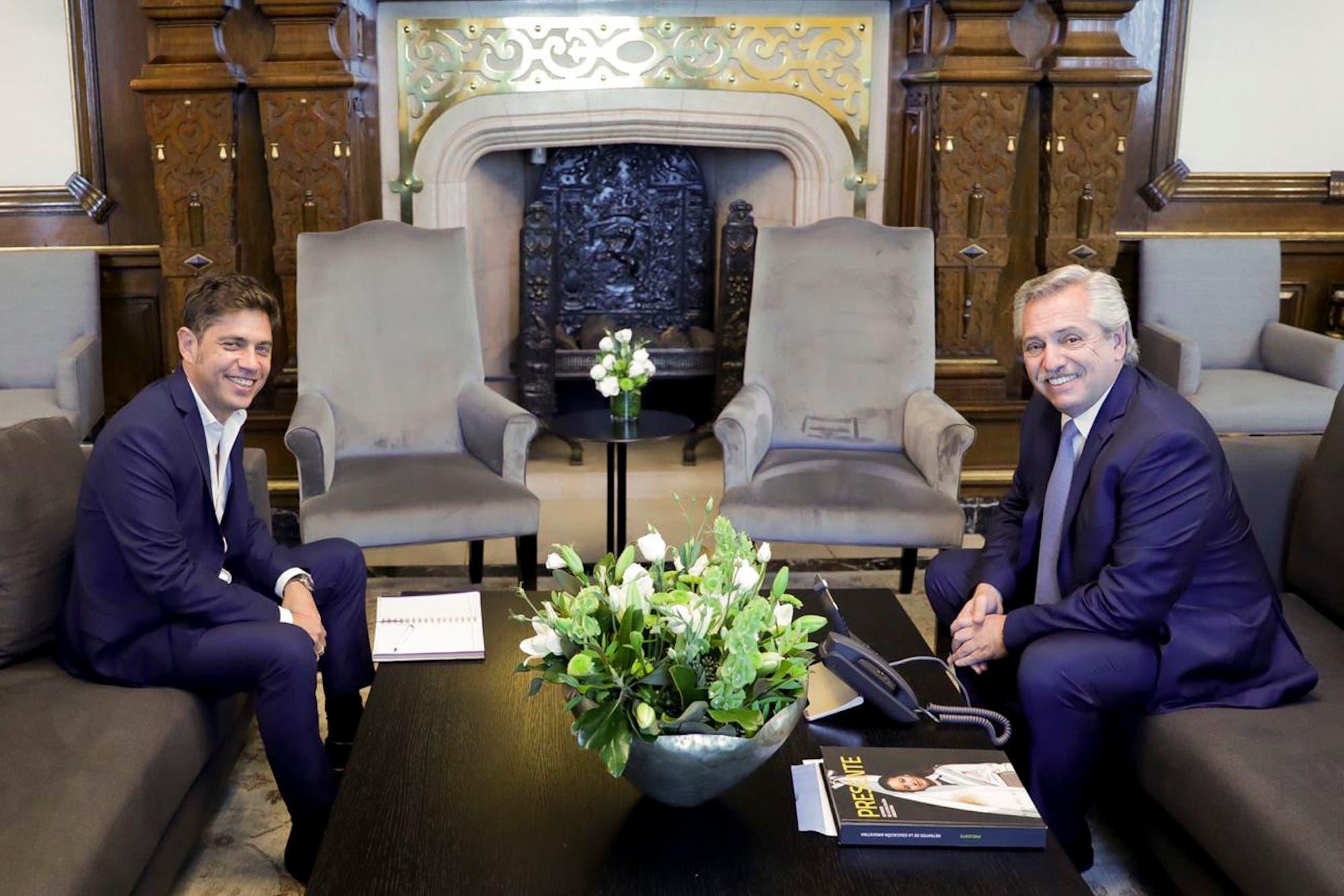 Respaldo: Fernández lo sube a Kicillof a su gira internacional, mientras éste espera la respuesta de los acreedores