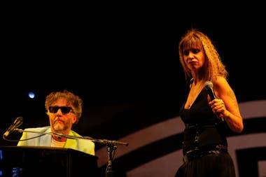 Fito Páez y Fabiana Cantilo, en el Cosquín Folclore 2020