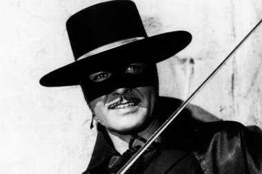 Guy Williams, en la piel de El Zorro