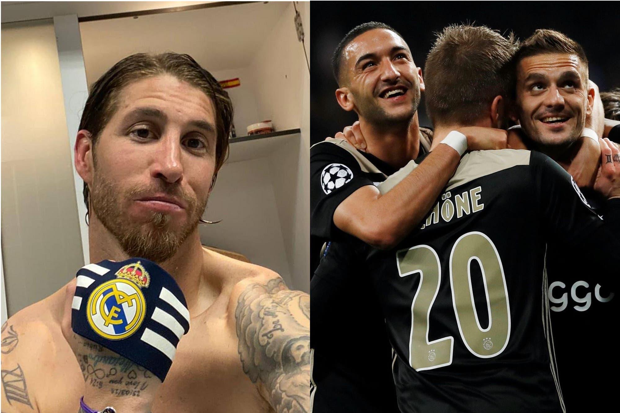 El picante cruce entre Sergio Ramos y Ajax en Twitter