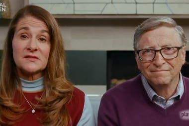 Melinda y Bill Gates lideran la fundación del empresario