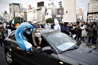 Protestas en la ciudad de Buenos Aires