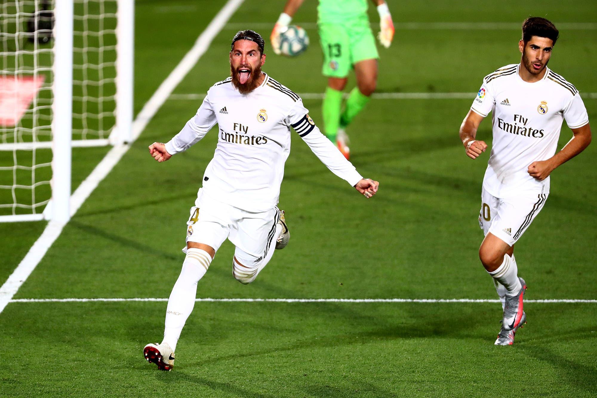 Real Madrid-Getafe, por la Liga de España: el equipo de Zidane ganó ante un duro rival y se despega de Barcelona