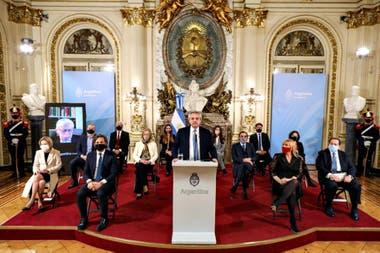 El acto sirvió también para presentar a los miembros del consejo consultivo que debe presentar propuestas