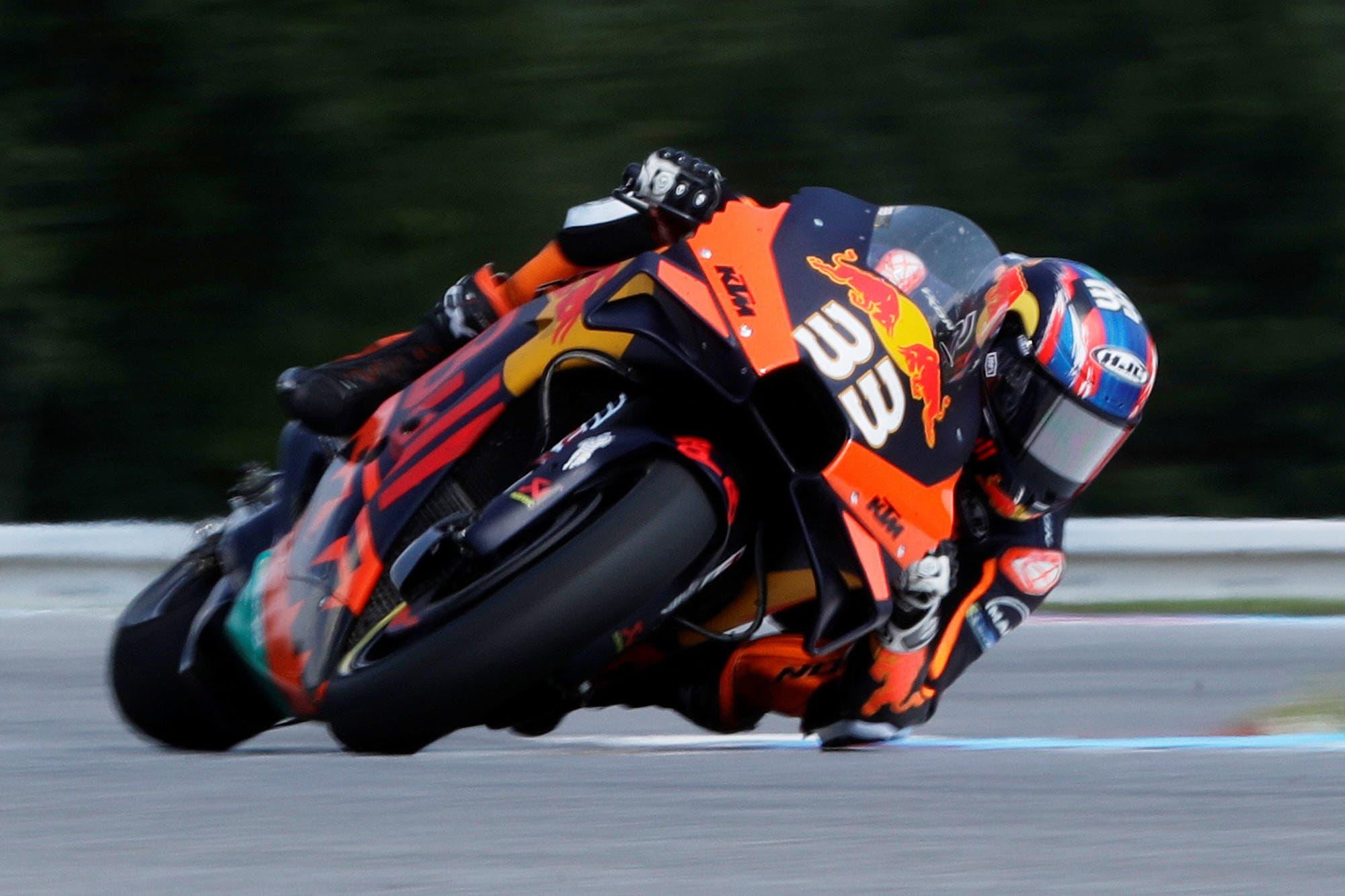 MotoGP. Doble estreno en la República Checa: el primer triunfo de Brad Binder y de KTM