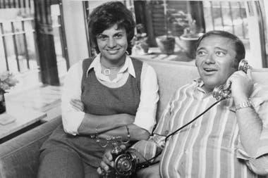 Berta Szpindler y Tato Bores