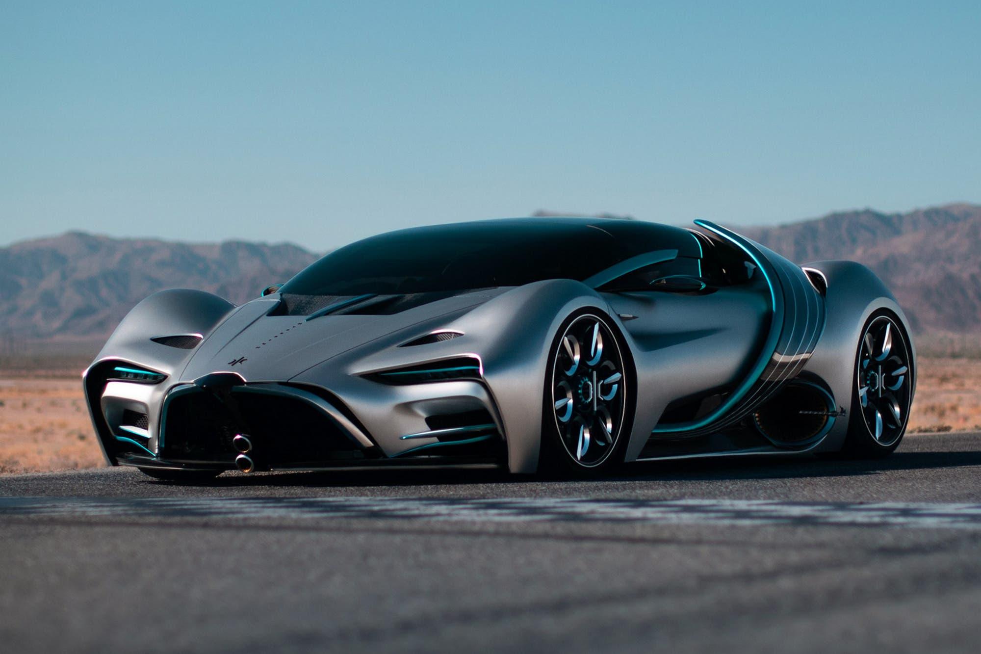 Hyperion XP-1: así es el impresionante superauto deportivo eléctrico a hidrógeno