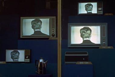 Una escena de la película Fahrenheit 451