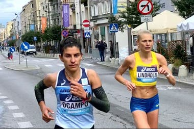 Daiana Ocampo hizo la mejor marca de su vida; un día feliz para el atletismo nacional.