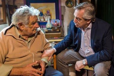 Fernández visitó a Mujica el año pasado en Montevideo