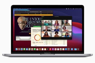 La nueva MacBook Pro con chip M1