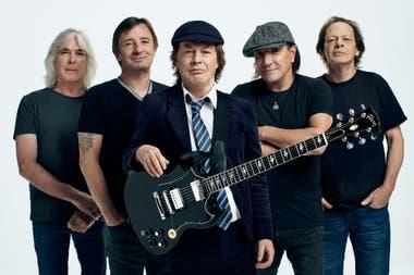 AC/DC edita hoy PWR UP, su nuevo disco de estudio
