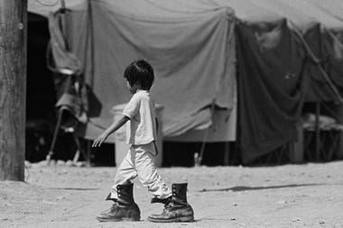 Muchos refugiados del sudeste asiático llegaron a Camp Pendleton, en California.