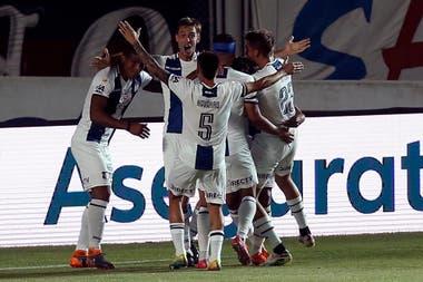 Talleres celebra su segundo gol y el buen inicio en la etapa Campeonato.