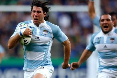 La corrida de Corleto que pasó a la historia: el try en el partido inaugural ante Francia en 2007