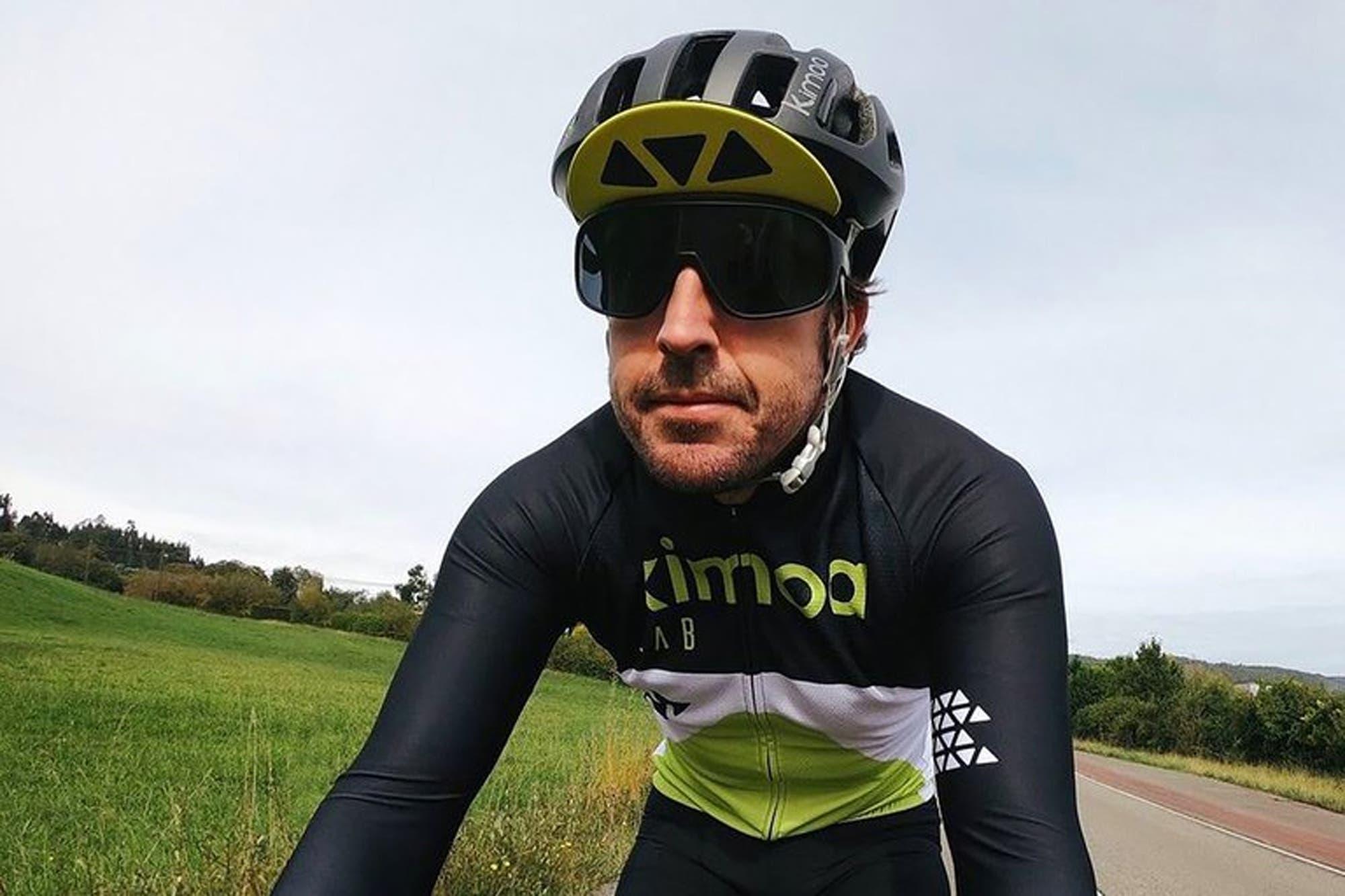 Fernando Alonso sufrió un accidente en bicicleta: fue atropellado y está internado