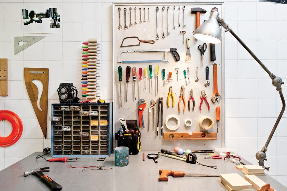 Un taller para los amantes de las herramientas