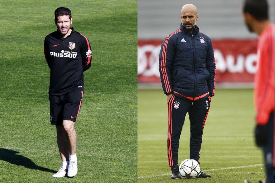 3fce2ff45d Atlético Madrid-Bayern Munich: Simeone, Guardiola y un duelo de estilos en  la Champions League - LA NACION