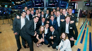 La plana mayor de Despegar en el NYSE