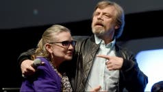 Mark Hamill recordó a Carrie Fisher en las redes