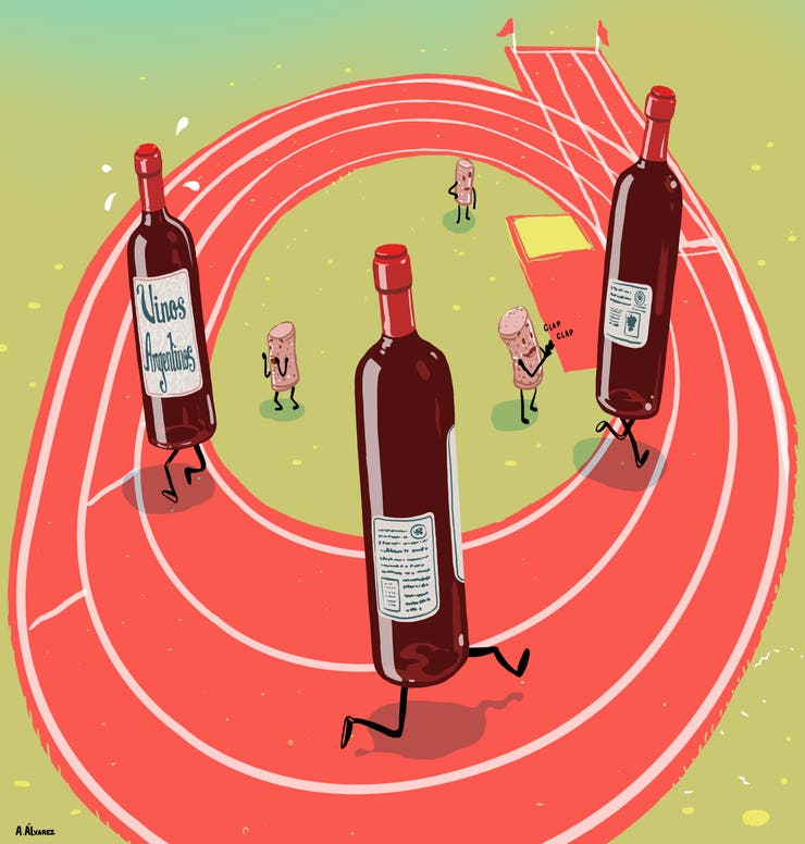 Al vino argentino aún le cuesta competir en el exterior