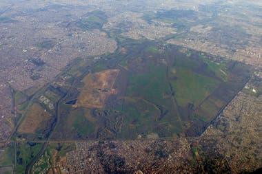 Vista aérea de Campo de Mayo