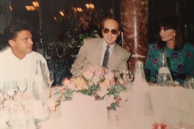 Luis Miguel, Hugo López y su esposa Lucía Miranda