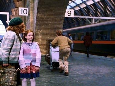 Los Weasley en Harry Potter y la piedra filosofal. Warner Bros.