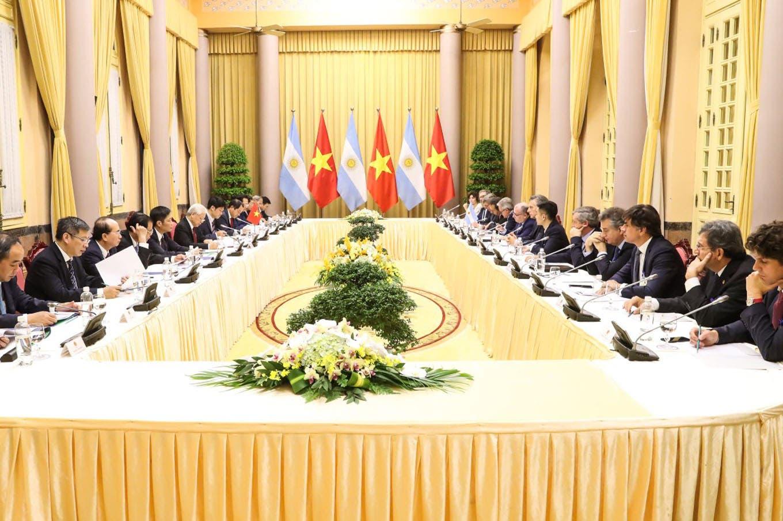 """Macri cerró su visita a Vietnam con un llamado a los empresarios: """"Interactúen"""""""