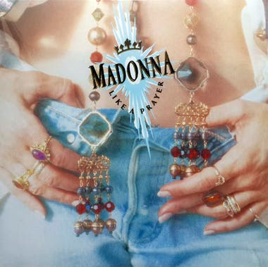 La tapa de Like a Prayer, el disco de 1989 de Madonna