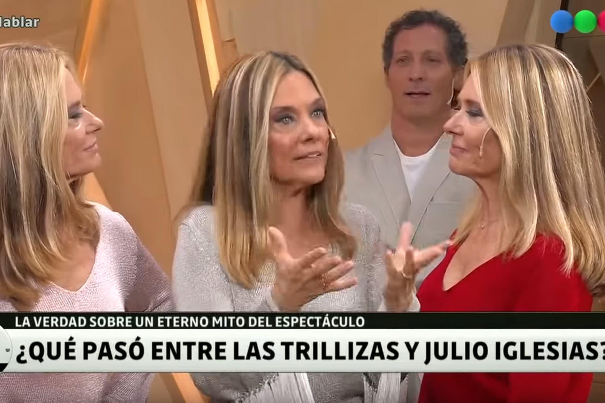 Julio Iglesias y un secreto muy bien guardado: ¿de cuál de las Trillizas de Oro se enamoró?
