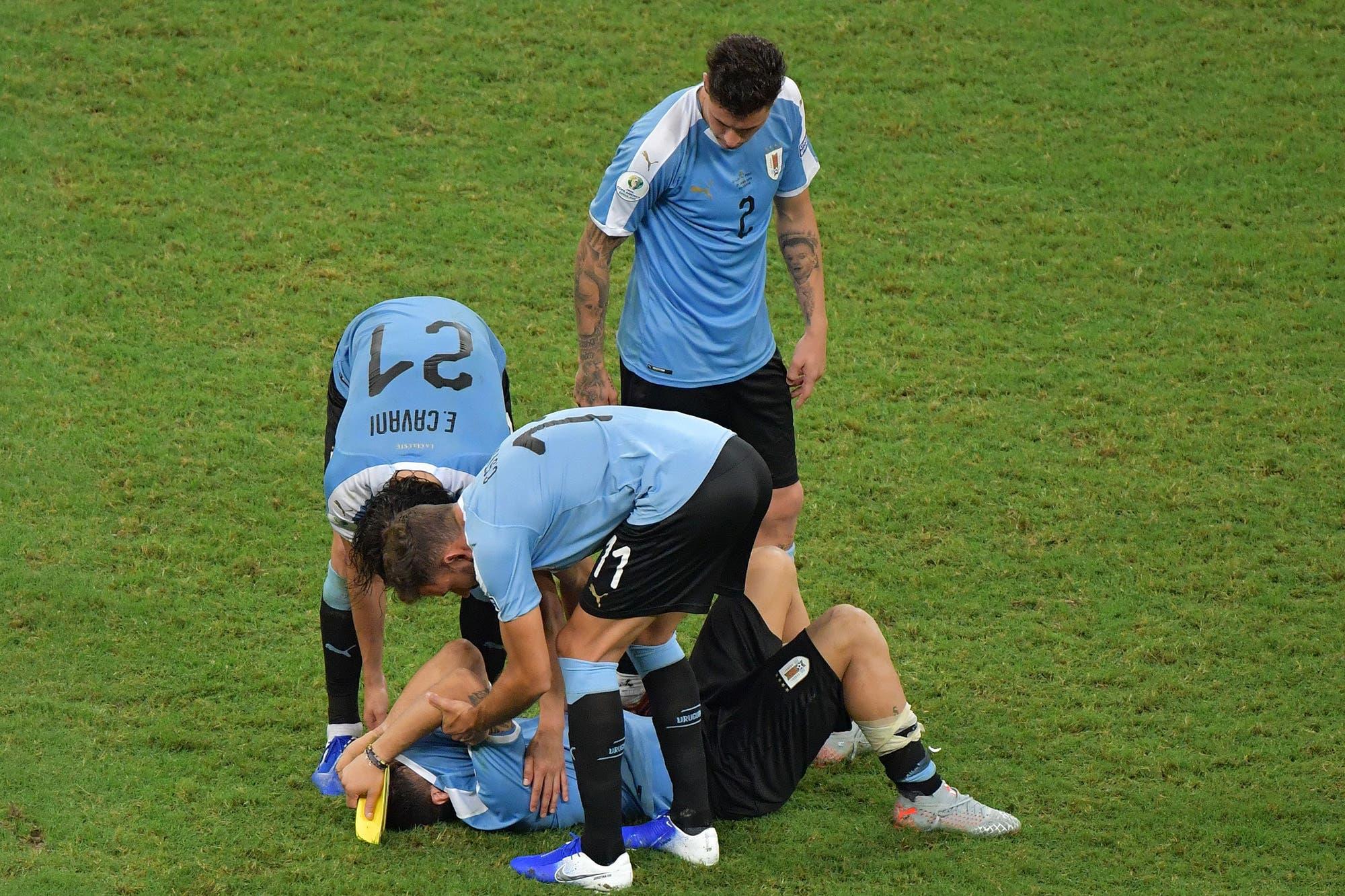 El llanto de Luis Suárez: la imagen de la eliminación de Uruguay en la Copa América