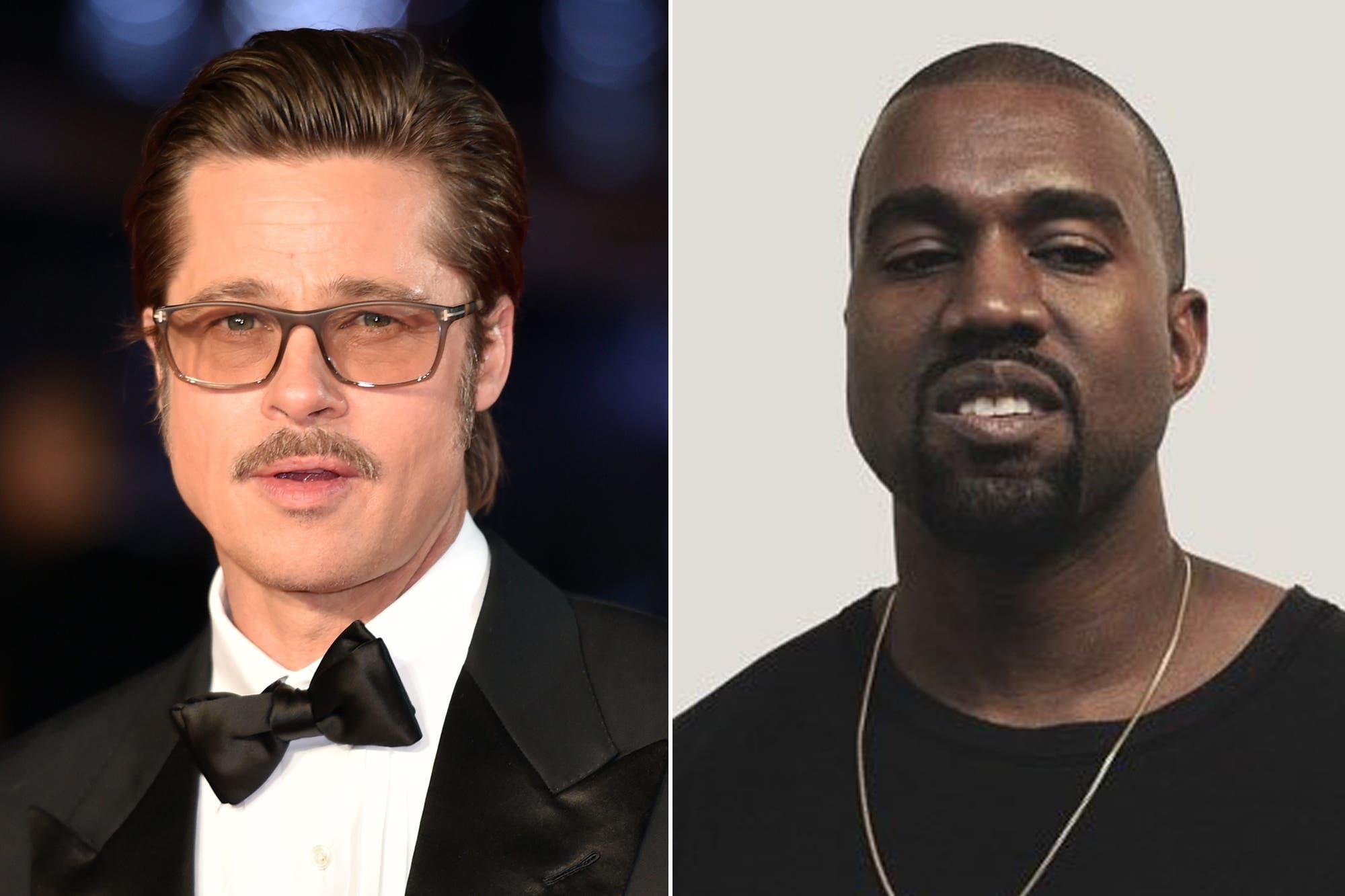 La amistad menos pensada: los motivos de la estrecha unión entre Brad Pitt y Kanye West