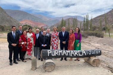 Ivanka Trump cerró su visita a Jujuy con un almuerzo en Purmamarca
