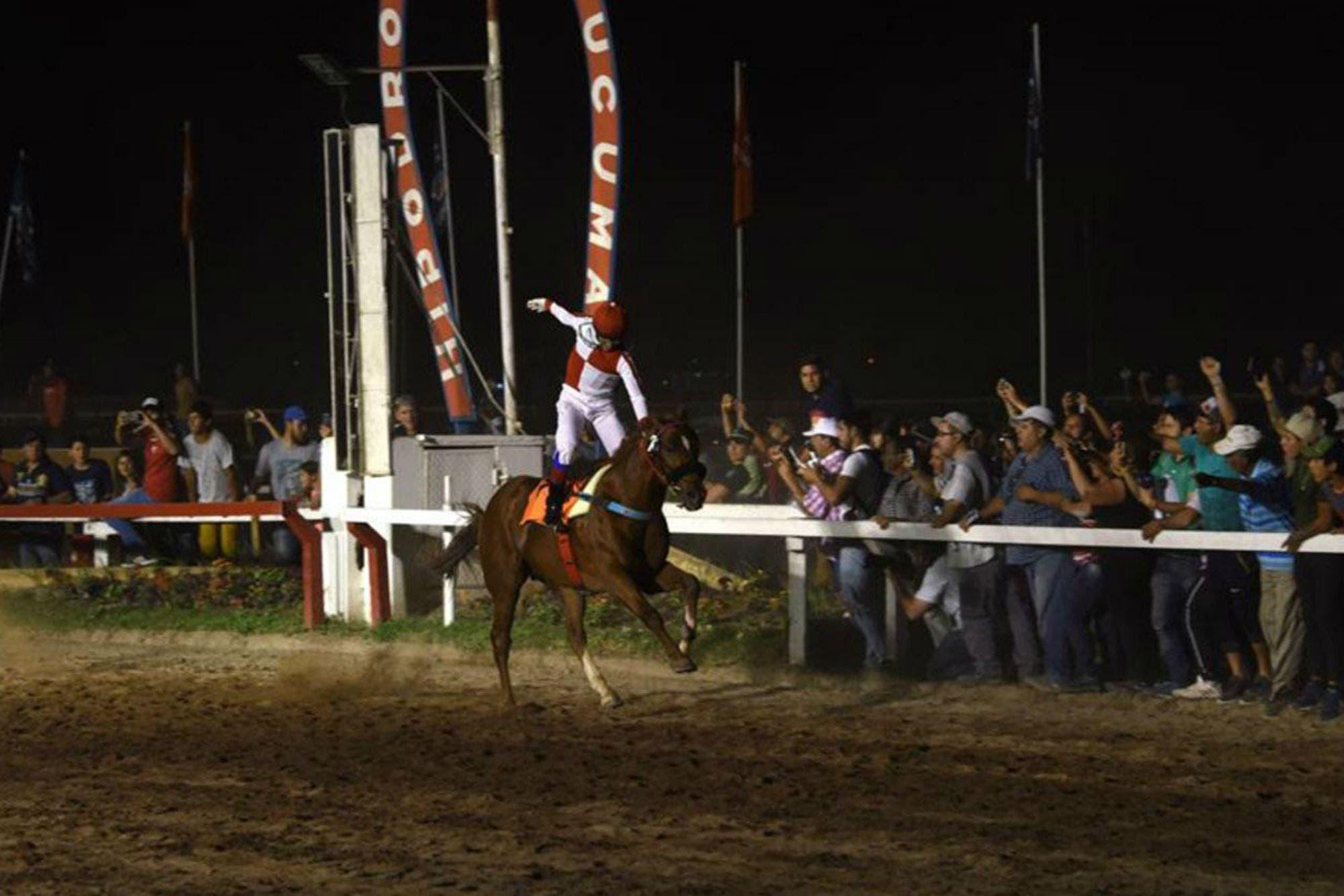 Osvaldo Alderete, el jockey que perdió un riñón y un año después volvió a su tierra para ganar la carrera que siempre soñó