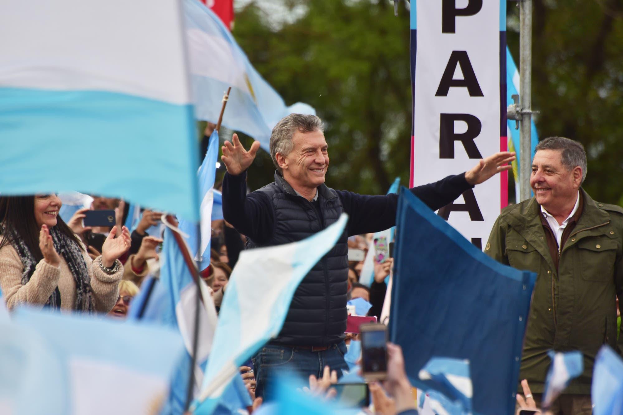 """Macri: """"Yo no les digo desde ningún atril lo que tienen que pensar"""", los dejo vivir con libertad"""""""
