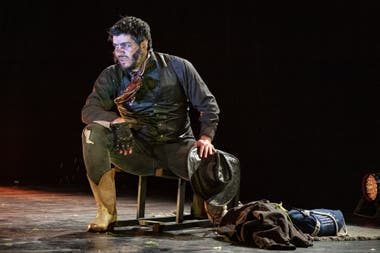 Marco Antonio Caponi, en Romance del Baco y la vaca, de Gonzalo Demaría