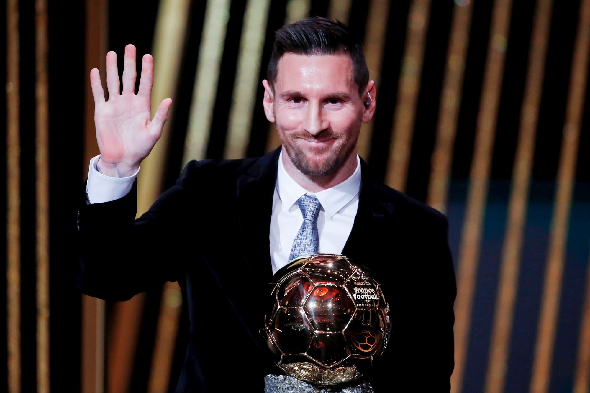 Balón de Oro: el discurso de Lionel Messi tras recibir el premio y la frase sorpresiva sobre su retiro