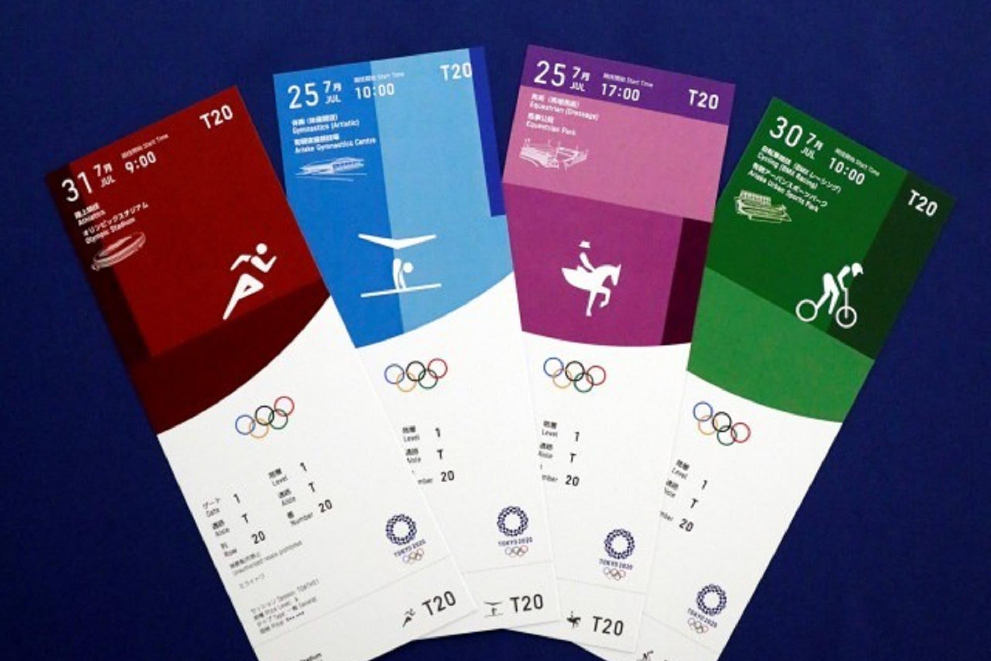 Tokio 2020: las entradas a los Juegos Olímpicos honrarán los colores tradicionales de Japón