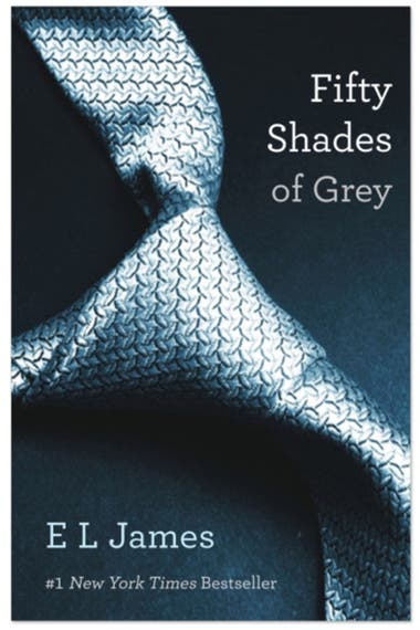 """Cincuenta sombras de Grey"" de E.L. James"