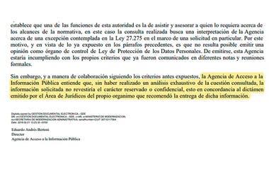 La Anses se negó a brindar la información a pesar de que la Agencia de Acceso a la Información Pública determinó en 2018 que la información solicitada sobre las pensiones vitalicias no reviste carácter reservado o confidencial.